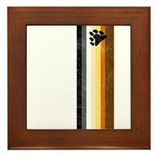 Vintage Bear Pride Framed Tile