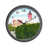 Nauset Beach Lighthouse Wall Clock