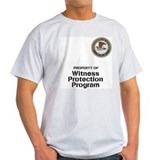 Witness Protection Program Ash Grey T-Shirt