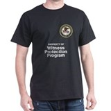 Witness Protection Program Black T-Shirt