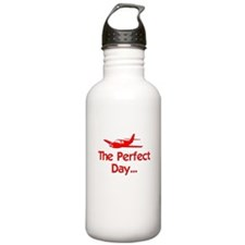 Perfect Day Airplane Water Bottle