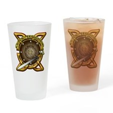 Celtic Warrior Irish Drinking Glass