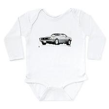 Unique Camaro Long Sleeve Infant Bodysuit