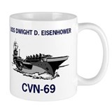 USS EISENHOWER Mug
