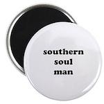 W04 Souvenir Magnet: southern soul man