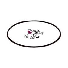 Wine Diva Patches
