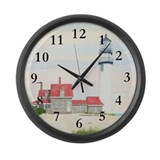 Stiff Breeze At Day's End Large Wall Clock