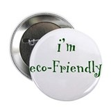 "i'm eco-Friendly 2.25"" Button (10 pack)"