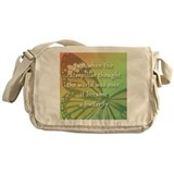 &quot;Be the Butterfly&quot; Messenger Bag