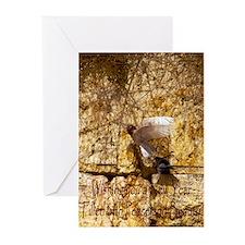 Albino Pigeon Rosh Hashana Greeting Cards (Pk of 2