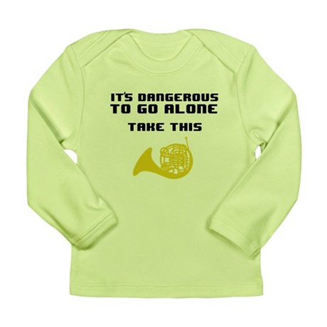 Take the Horn Long Sleeve Infant T-Shirt