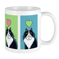 TUXEDO CAT Coffee, Tea, or Cocoa Mug, Multi-Color