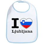 I love Ljubljana Bib