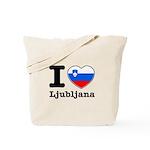 I love Ljubljana Tote Bag