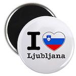 I love Ljubljana Magnet