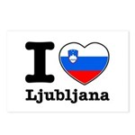 I love Ljubljana Postcards (Package of 8)
