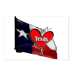 Love Texas II Postcards (Package of 8)