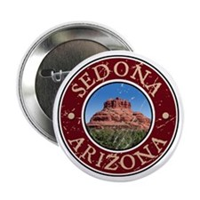 "Sedona, AZ - Bell Rock 2.25"" Button"