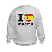 I love Madrid Sweatshirt
