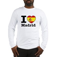 I love Madrid Long Sleeve T-Shirt
