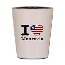 I love Monrovia Shot Glass