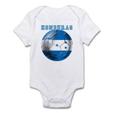 Honduras Soccer Football Infant Bodysuit
