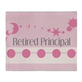 Retired Principal Throw Blanket