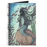 Border Collie dog mermaid Journal