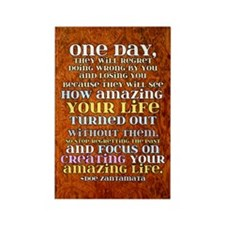 One Day Rectangle Magnet (10 pack)