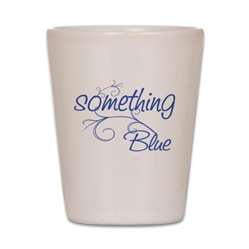 something blue shot glass