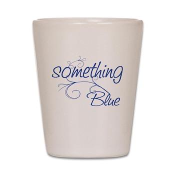 something blue shot glass