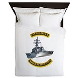 US - NAVY - USS - Sullivan Queen Duvet