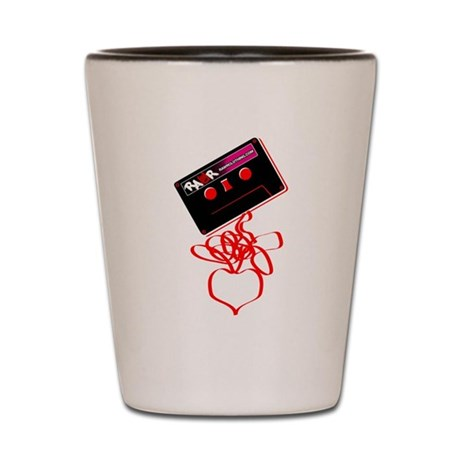 Rock Tape Love Shot Glass