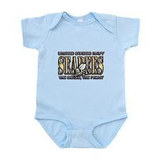 New SectionUS Navy Seabees Go Infant Bodysuit