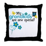 Sew Special Grandkids Throw Pillow
