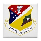 49th Fighter Wing Tile Coaster