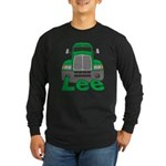 Trucker Lee Long Sleeve Dark T-Shirt