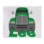 Trucker Lee Throw Blanket