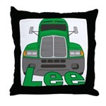 Trucker Lee Throw Pillow