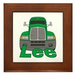 Trucker Lee Framed Tile