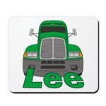 Trucker Lee Mousepad