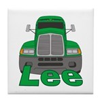 Trucker Lee Tile Coaster