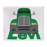 Trucker Levi Throw Blanket