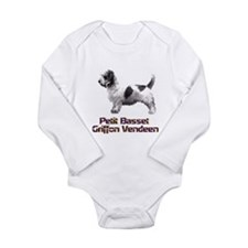 petit basset griffon vendeen Long Sleeve Infant Bo