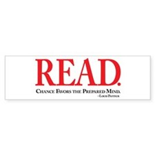 READ-be prepared Bumper Sticker