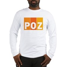 POZ Men's Long Sleeve T-Shirt