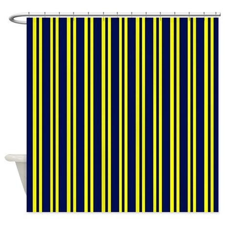 Where To Buy Window Curtains Blue and Yellow Shower Curtain