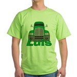 Trucker Luis Green T-Shirt