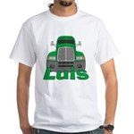 Trucker Luis White T-Shirt