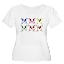 Sugar Skull Butterfly Display T-Shirt